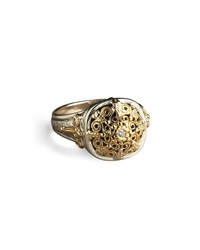 Ornate Diamond Ring Konstantino