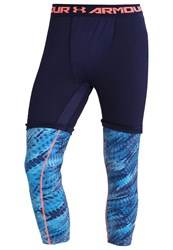 Under Armour Tights Midnight Navy Island Blues Dark Blue