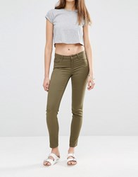 Noisy May Extreme Lucy Jean 32 Olive Green