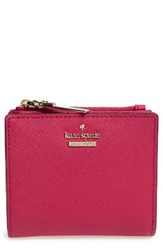 Kate Spade Women's New York Cameron Street Adalyn Slim Leather Wallet Pink Punch