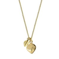 Dinny Hall Tiny Lotus Petal Pendant Necklace Gold