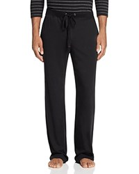 Daniel Buchler Pima Cotton Blend Lounge Pants Black With Grey