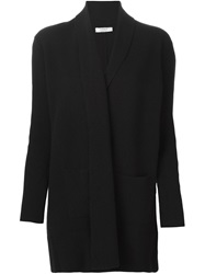 Liska Long Cardigan Black