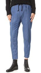 The Fifth Label Moonlight Dreams Pants Washed Blue Chambray