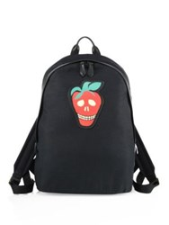 Paul Smith Canvas Strawberry Skull Backpack