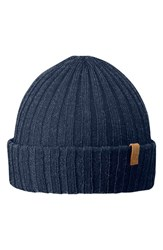 Fjall Raven Men's Fjallraven Cuffed Beanie Blue Dark Navy
