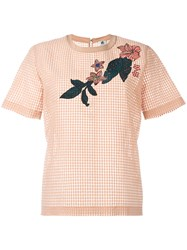 Paul Smith Ps By Paneled T Shirt Nude Neutrals