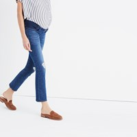 Madewell Maternity Demi Boot Jeans In Robin Wash