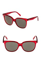 Celine 'S 57Mm Square Sunglasses Red Green Red Green