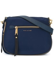 Marc Jacobs Small Trooper Nomad Satchel Bag Blue
