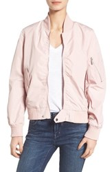 French Connection Women's Bomber Jacket Rosewood Haze