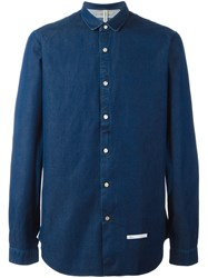 Dnl Casual Denim Shirt Blue