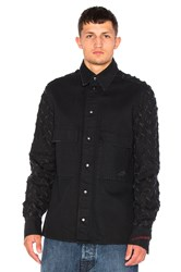 Vivienne Westwood Berry Worker's Shirt Black Denim