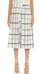 Cameo Lady Killer Culottes Ivory Rope