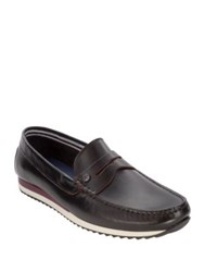 Original Penguin Adrian Loafers Sand Red