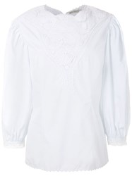 Martha Medeiros Ana Blouse White