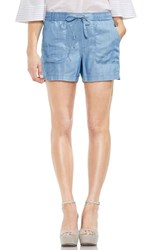Vince Camuto Tie Waist Chambray Shorts Vintage