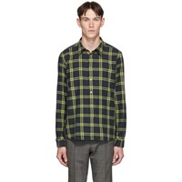 Paul Smith Ps By Black Check Regular Fit Short Sleeve Shirt 79 Black
