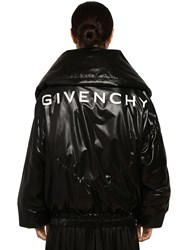 Givenchy Quilted Nylon Puffer Jacket Black