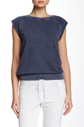Central Park West French Terry Tee Blue