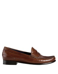 Cole Haan Laurel Leather Moccasins Brown