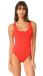 Marysia Palm Springs Maillot Poppy Red