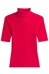 3.1 Phillip Lim Turtleneck Pullover With Wool Pink