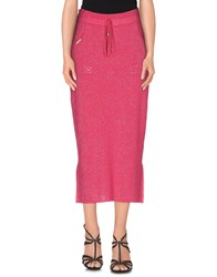 Ean 13 Skirts 3 4 Length Skirts Women Fuchsia