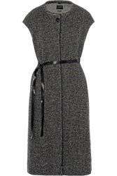 Isabel Marant Everly Tweed Vest Gray
