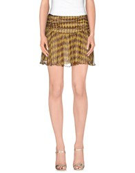 Gotha Skirts Mini Skirts Women Cocoa