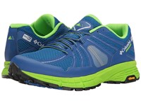 Columbia Mojave Trail Outdry Super Blue White Men's Running Shoes