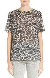 Marc Jacobs Women's Leopard Print Cotton Tee