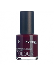Korres Nail Lacquer Dark Red