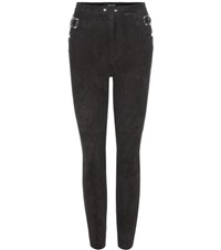 Isabel Marant Gabe Suede Trousers Black