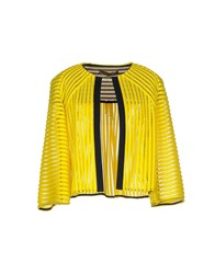 Space Style Concept Suits And Jackets Blazers Women Yellow