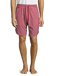 Publish Gingham Shorts Navy