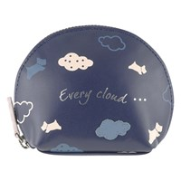 Radley Every Cloud Leather Coin Purse Navy