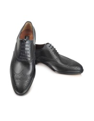 Fratelli Rossetti Anilcalf Black Leather Oxford