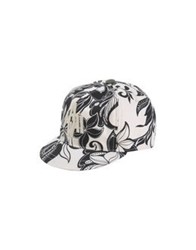 Golden Goose Hats Ivory