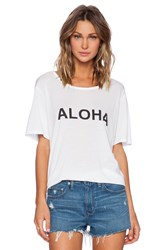 Mikoh New Caledonia Oversized Tee White
