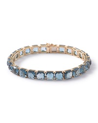 18K Rock Candy London Blue Topaz Tennis Bracelet Ippolita