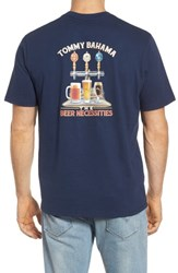 Tommy Bahama Men's Big And Tall Beer Necessities Graphic T Shirt Navy