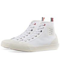 Thom Browne Hi Top Canvas Sneaker White