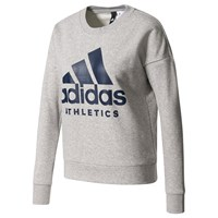 Adidas Sport Id Crew Neck Training Sweatshirt Grey