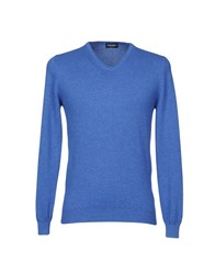 Zanieri Knitwear Jumpers Blue