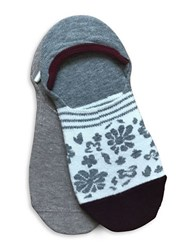 Lemon Cotton Blend Shoe Liner Socks White Sand