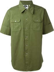 Telfar Cargo Pocket Shirt Green