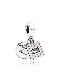 Pandora Design Dangle Charm Sterling Silver And Enamel Shopping Queen Moments Collection