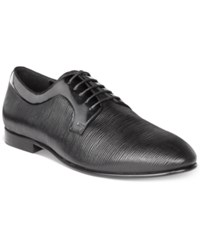 Tallia Men's Edmondo Leather Oxfords Men's Shoes Black