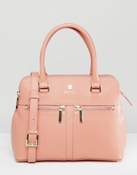 Modalu Leather Pippa Tote Bag Rose Pink